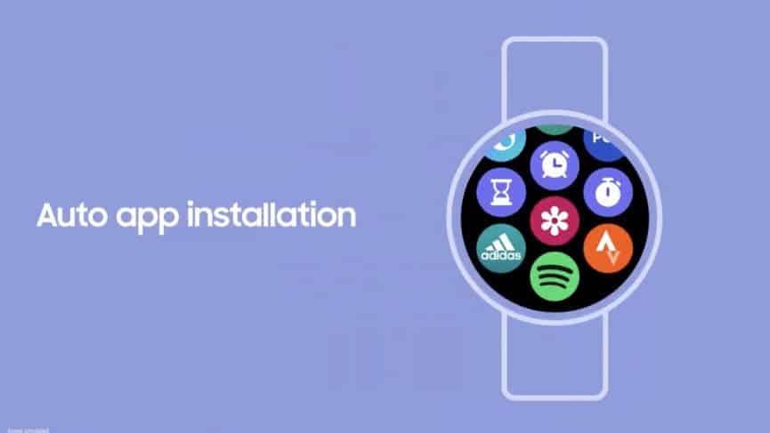 Samsung Galaxy Watch 4 App Installation