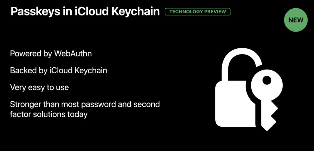 Passkeys - kill the password