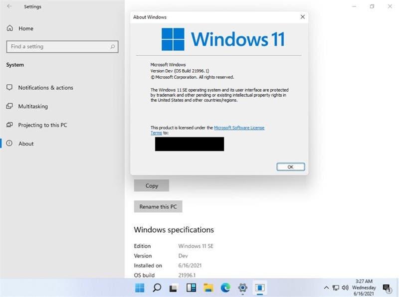 Windows 11 SE
