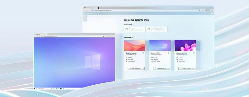 Windows 11 cloud