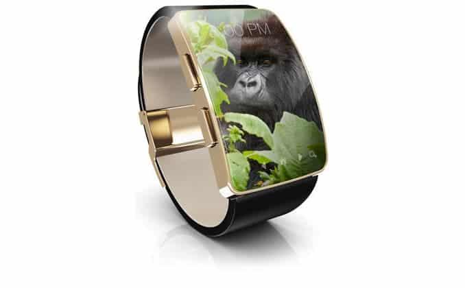 Corning Gorilla Glass DX In Smartwatch