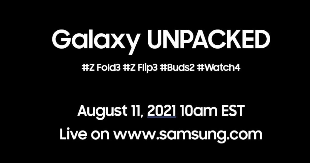 Galaxy Unpacked Poster Hashtags