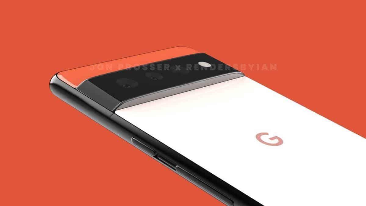 Google Pixel 6 Pro Design Leak