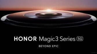Honor Magic 3 Series Render