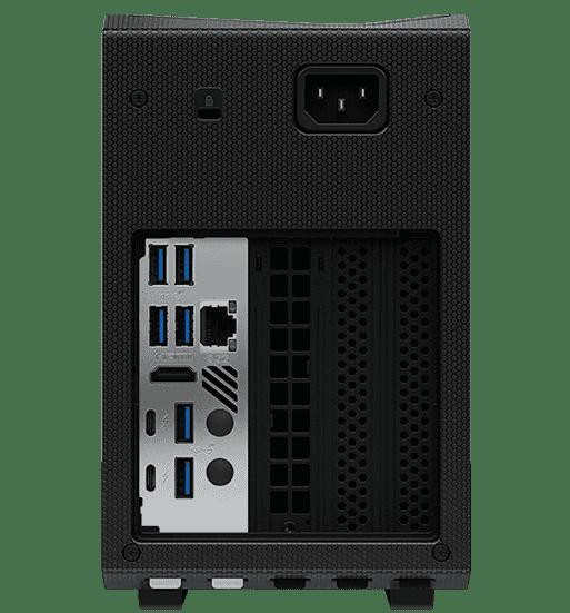 Intel NUC 11 Extreme Back