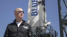 Jeff Bezos flight to space