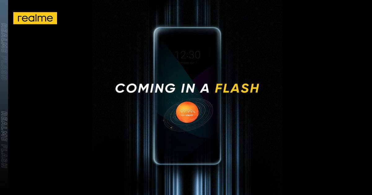 Realme Flash with MagDart