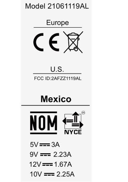 Redmi 10 FCC 1