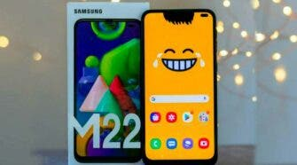 Samsung Galaxy M22 European pricing