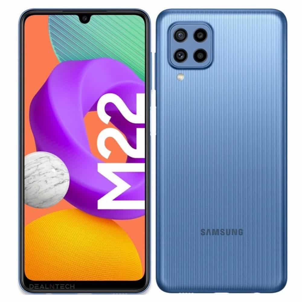 Samsung Galaxy M22 Render 2