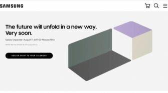 Samsung Galaxy Unpacked Event 2021 Date