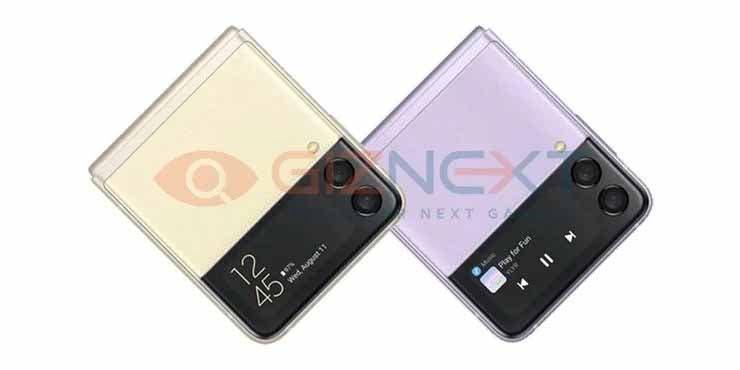 Samsung Galaxy Z Flip 3 Leaked Renders