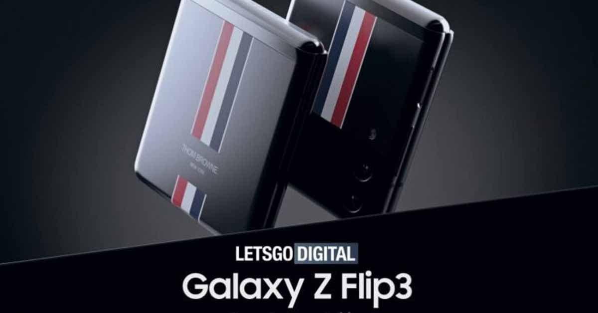 Samsung Galaxy Z Flip 3 Thome Browne Edition
