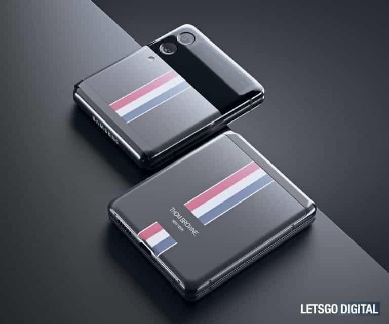Samsung Galaxy Z Flip 3 Thom Browne Edition_3