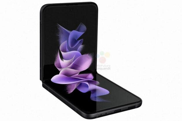 Samsung Galaxy Z Flip3 5G press renders 3