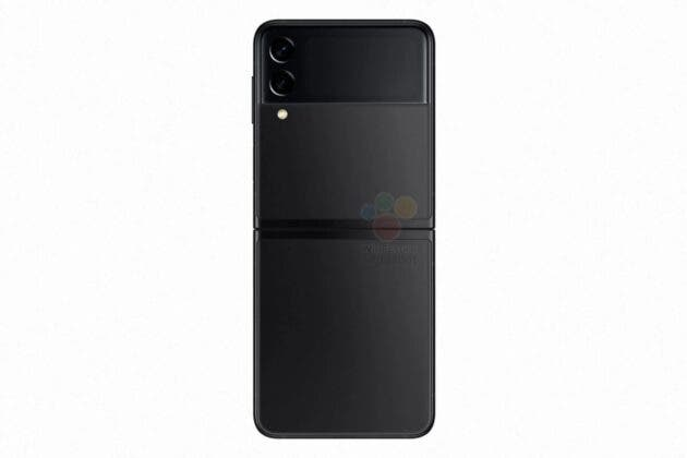 Samsung Galaxy Z Flip3 5G press renders 4