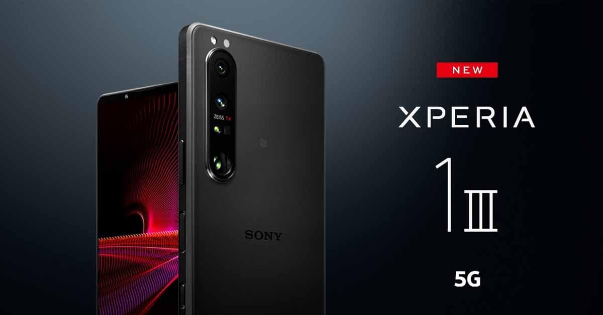 Sony Xperia 1 III 5G Pre-Order