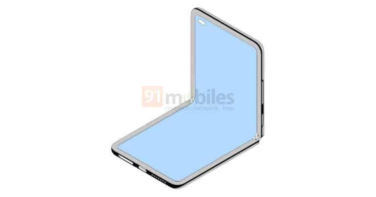 Xiaomi Flip Phone Folded