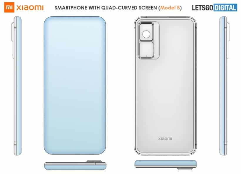 Xiaomi smartphone designs