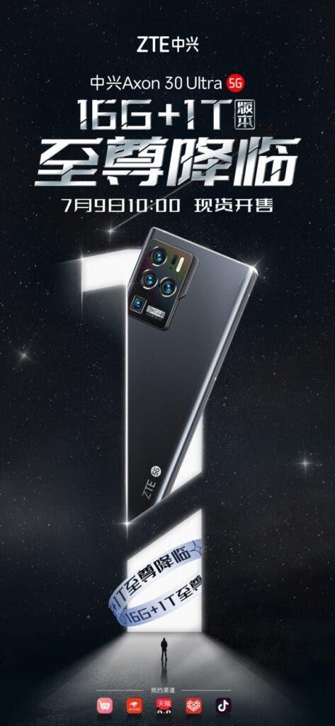 ZTE Axon 30 Ultra