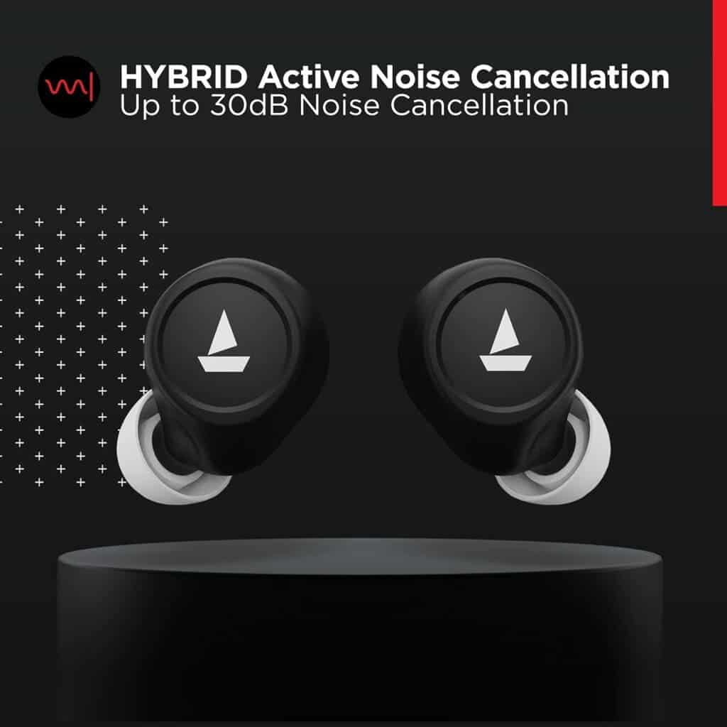 boAt Airdopes 501 ANC TWS Earbuds Hybrid ANC