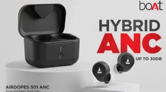 boAt Airdopes 501 ANC TWS Earbuds Launched In India