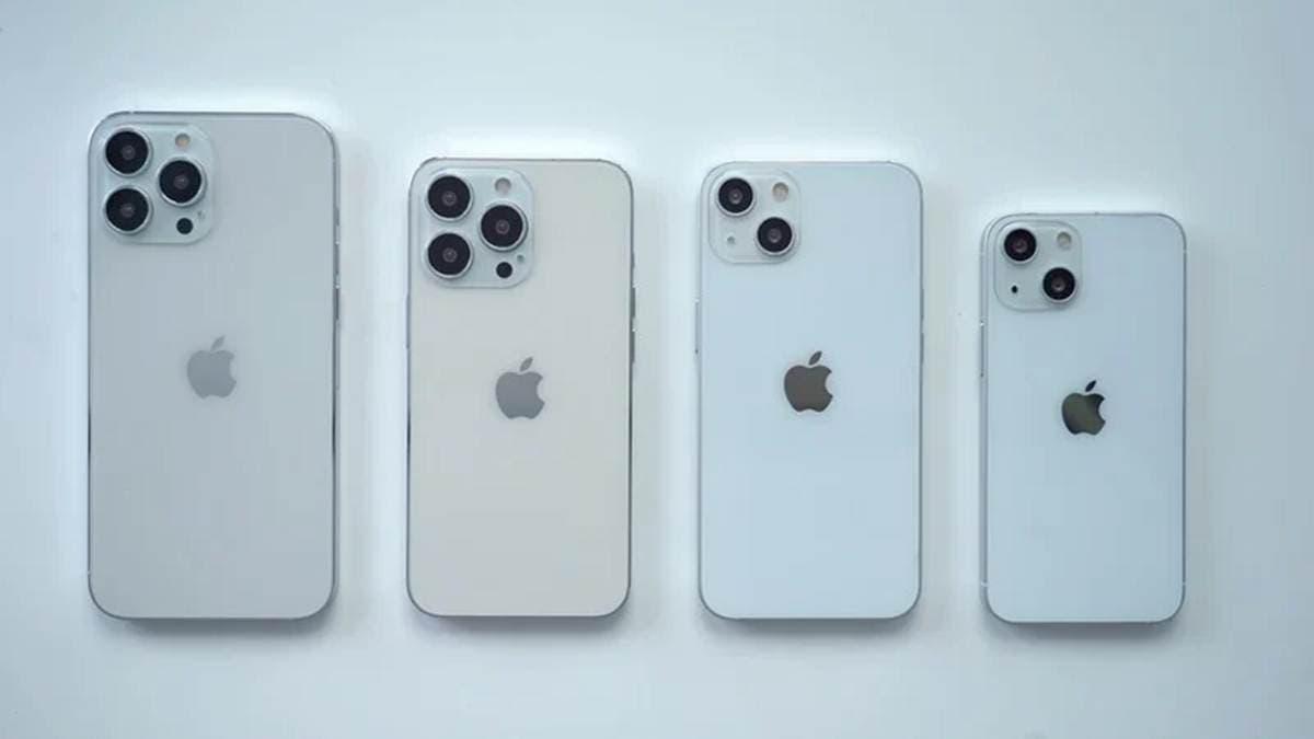 iPhone 13 Pro Max series Design Dummy Models