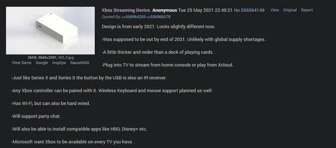 Xbox Streaming Box