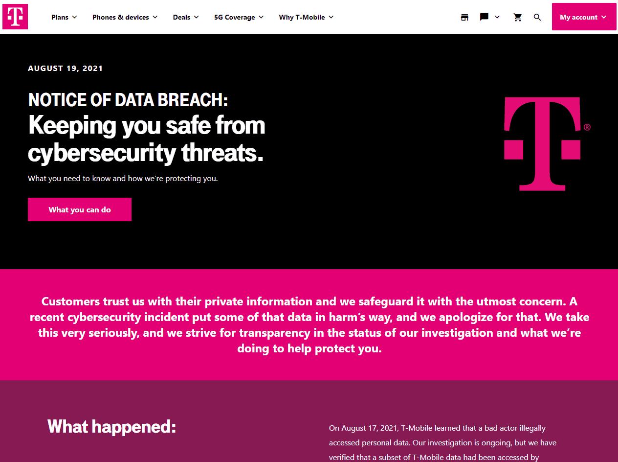 data bleach T-Mobile
