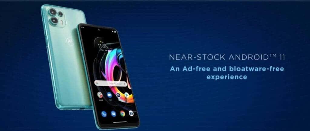 Motorola Edge 20 Fusion Android 11