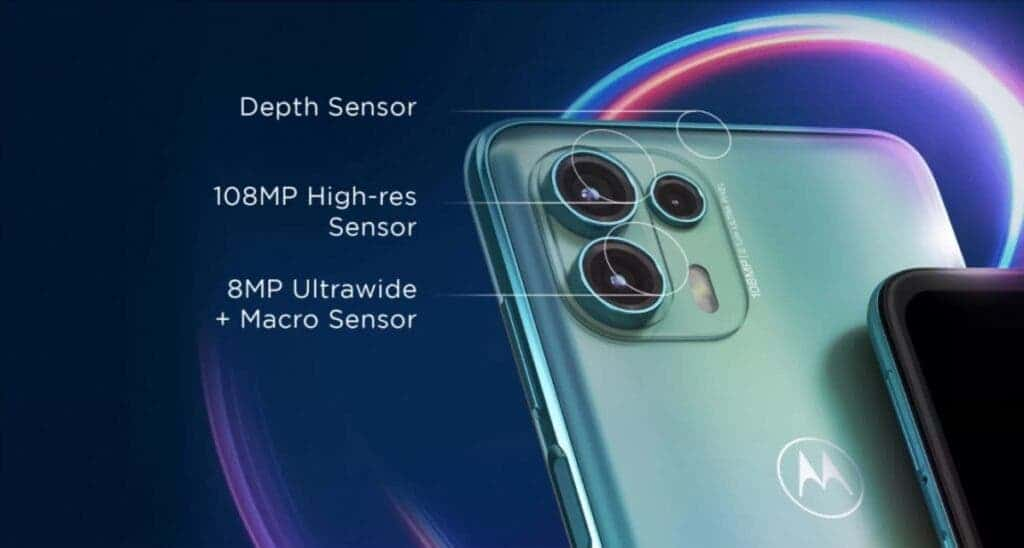 Motorola Edge 20 Fusion Camera