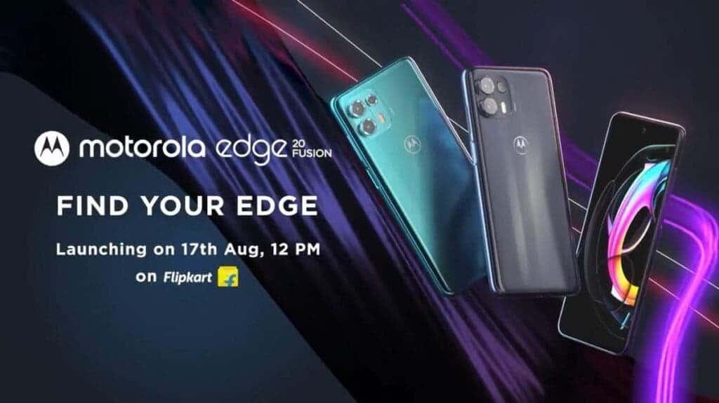 Motorola Edge 20 Fusion Flipkart Listing