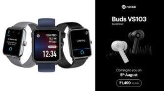 Noise ColorFit Pro 3 Assist Smartwatch, Noise Buds VS103 TWS Earbuds India Launch
