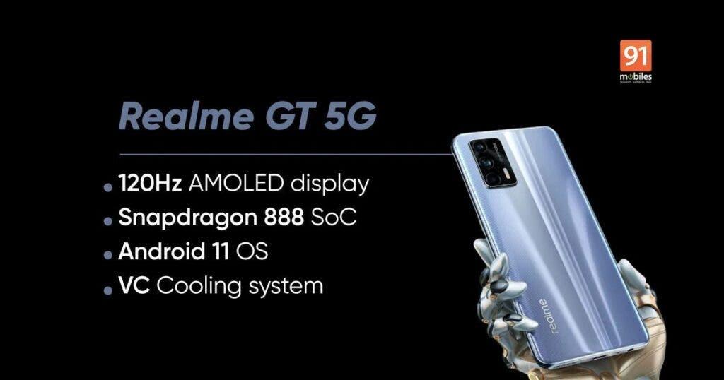 Realme GT 5G Specs