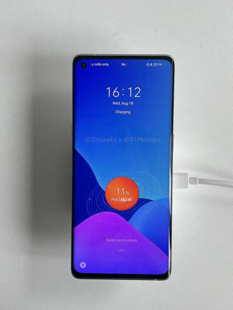 Realme GT Master Edition prototype MagDart_front