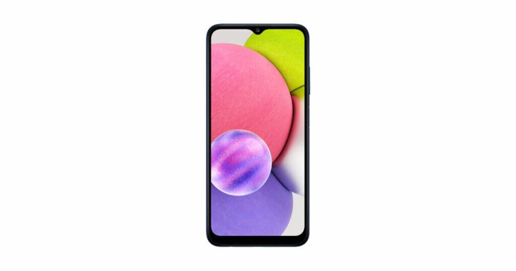 Samsung Galaxy A03s Render 3