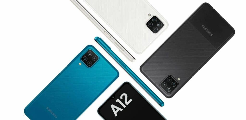 Samsung Galaxy A12 Color Options