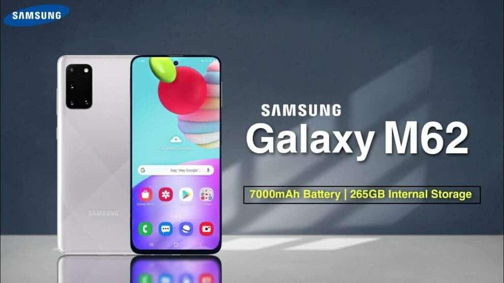 Samsung Galaxy M62 Brazil