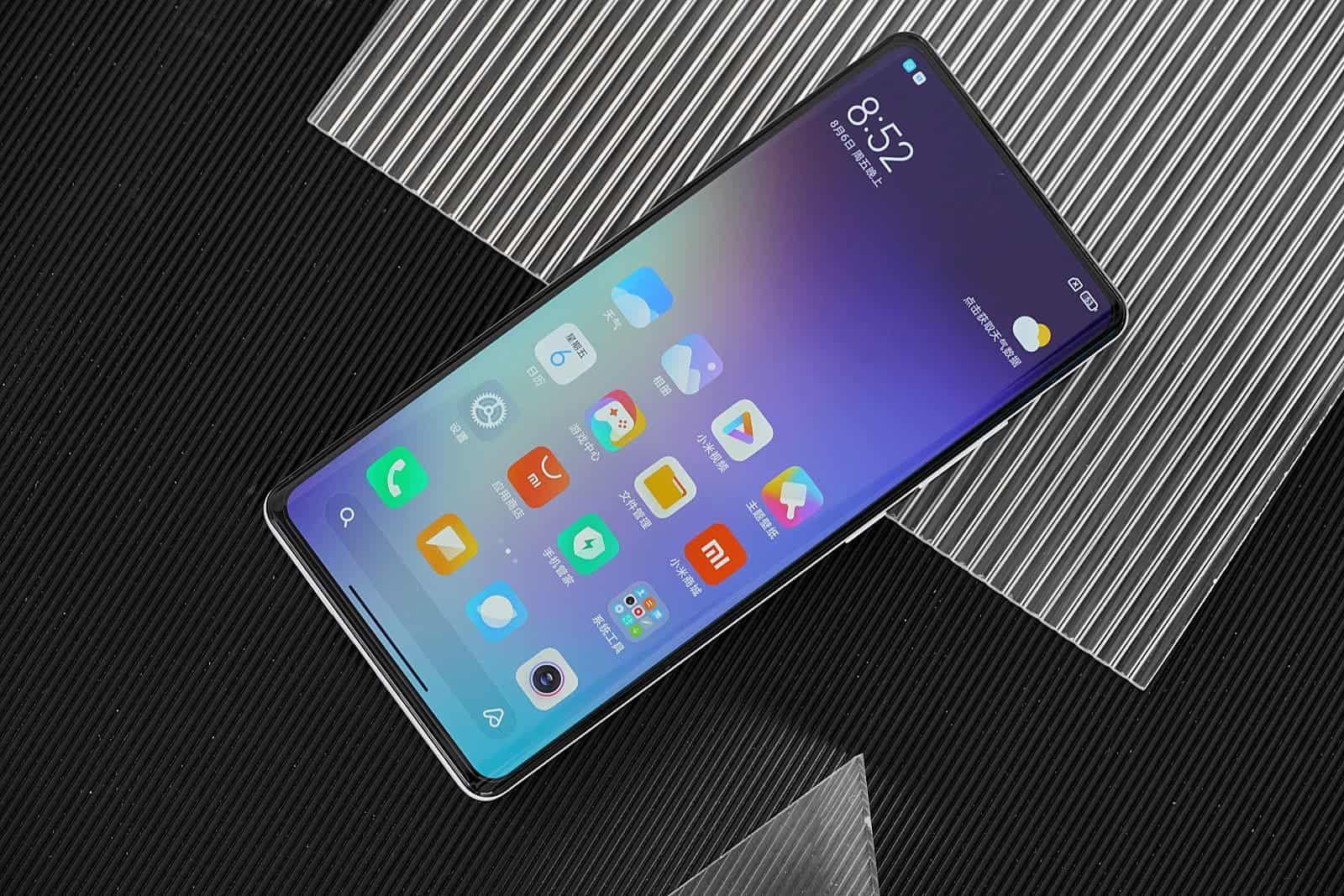 Xiaomi Mi MIX 4 under-screen cameras