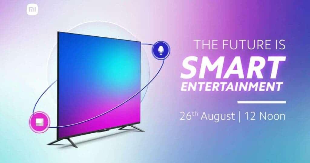 Xiaomi Mi TV 5X launch date in India