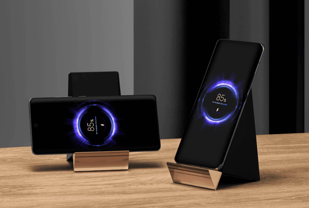 Xiaomi releases a 100W vertical air-cooled wireless charger