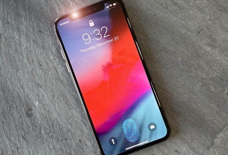 screen fingerprint