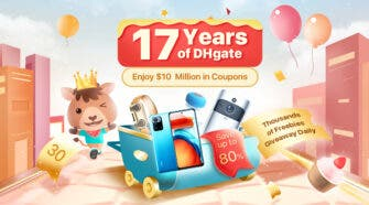 DHgate Anniversary Sale