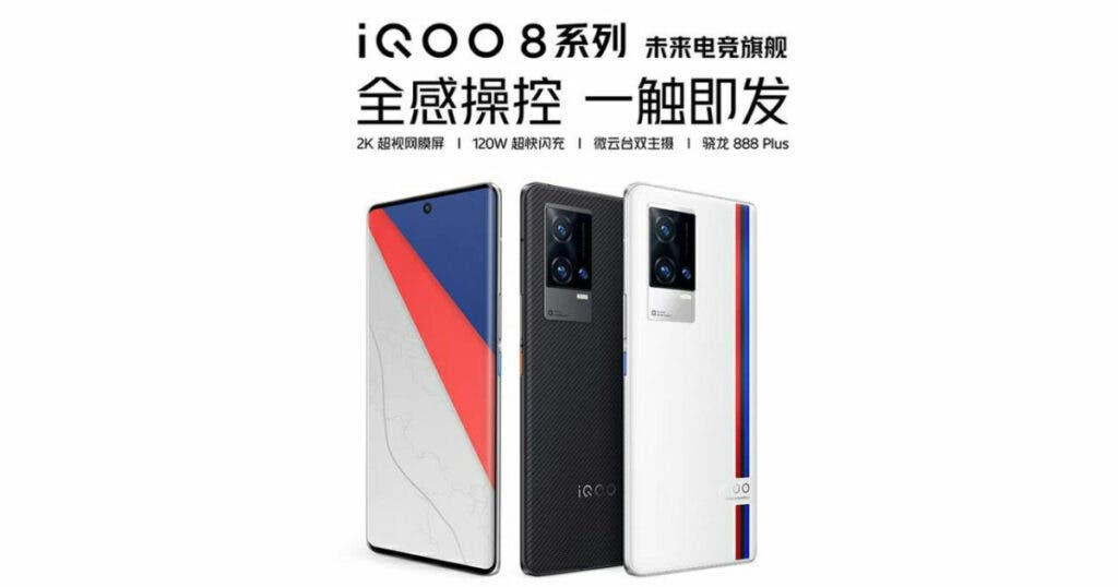 iQOO 8 Series Smartphone