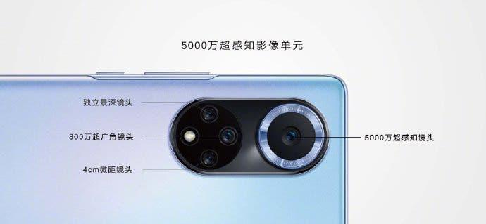 Huawei Nova 9 camera