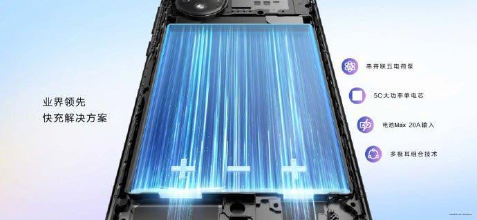 Huawei Nova 9 cooling