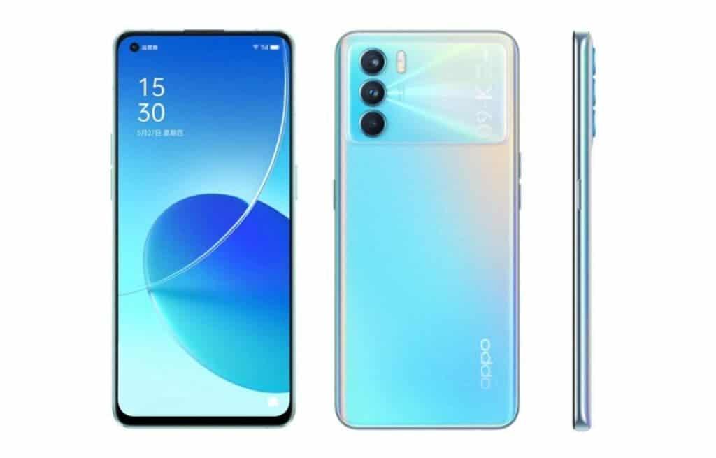 OPPO K9 Pro 5G Design