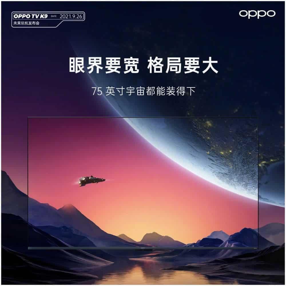 OPPO Smart TV K9 75-inch