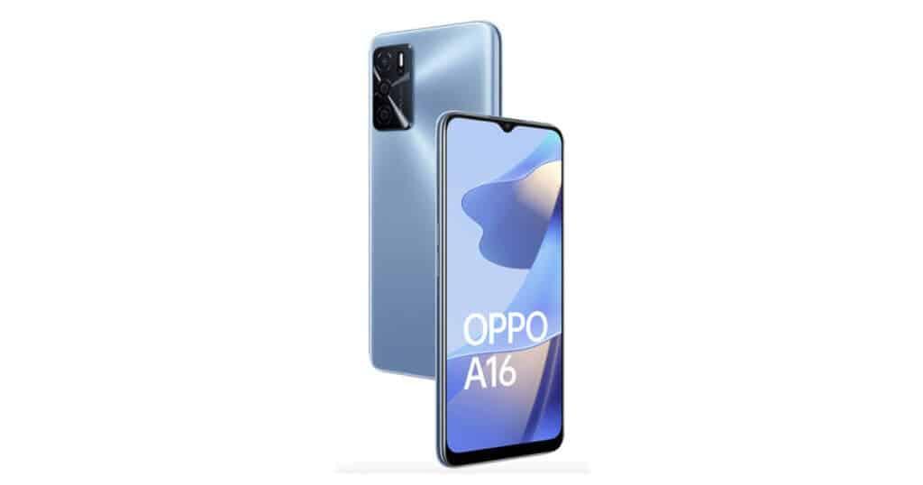 Oppo A16 Cameras