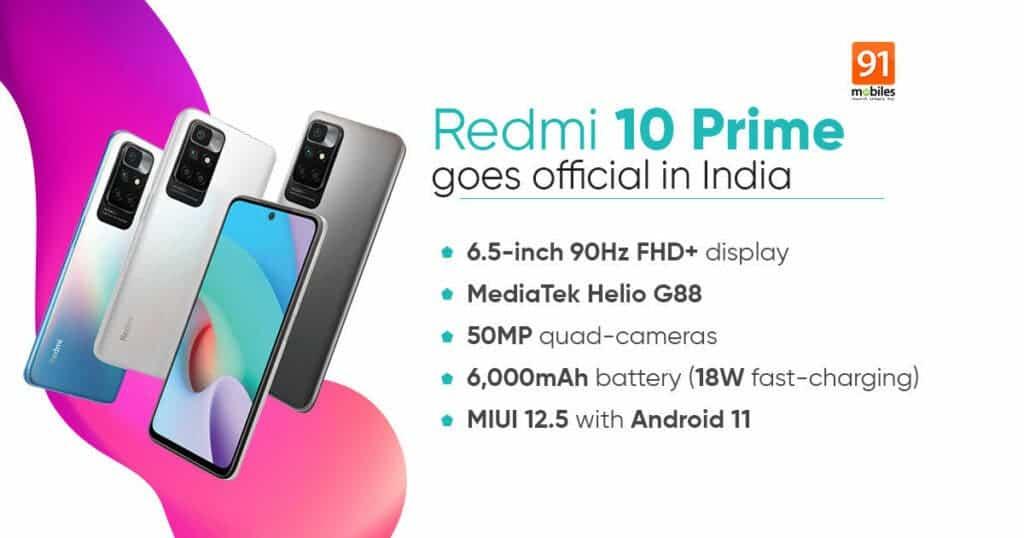 Redmi 10 Prime Specs